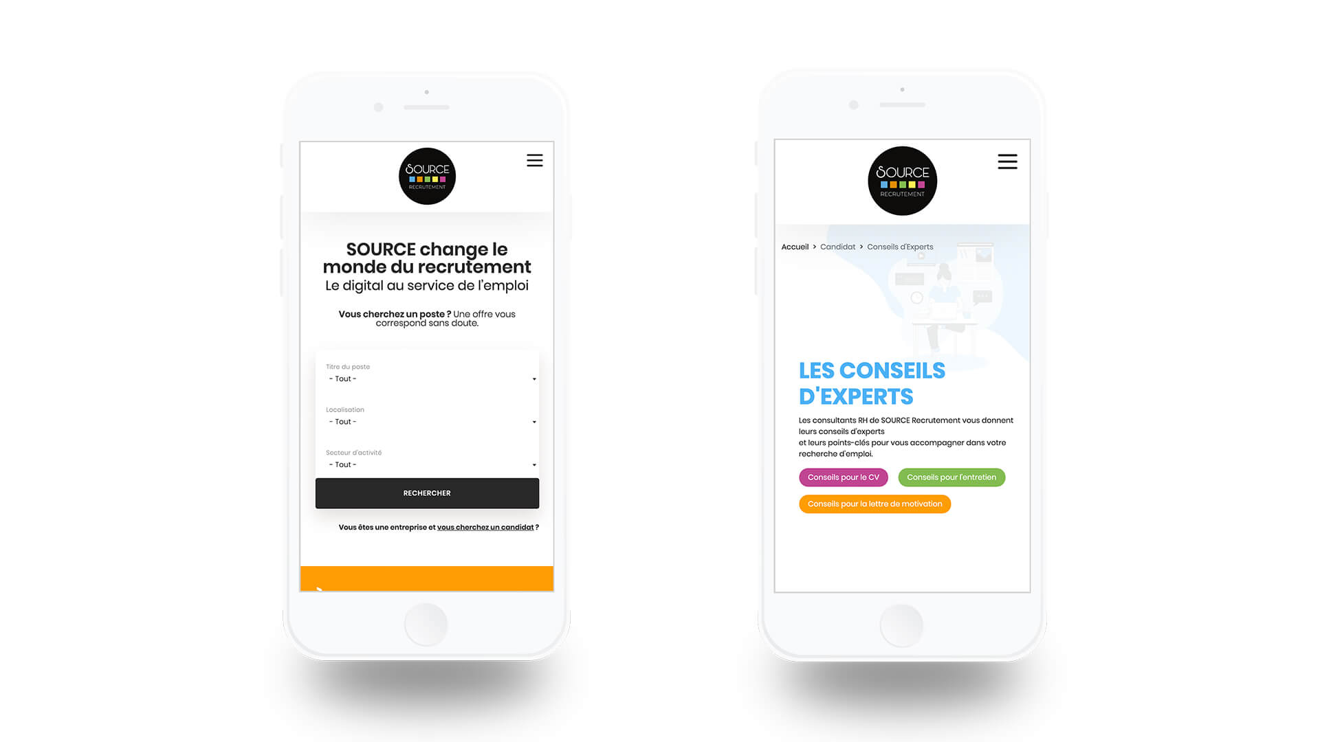Iphone-mockup-source-recrutement-agence-communication-tours-paris