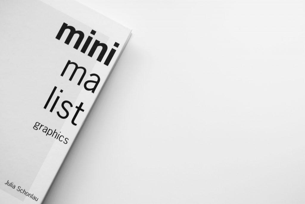 Couverture du livre Minimalist sur fond blanc