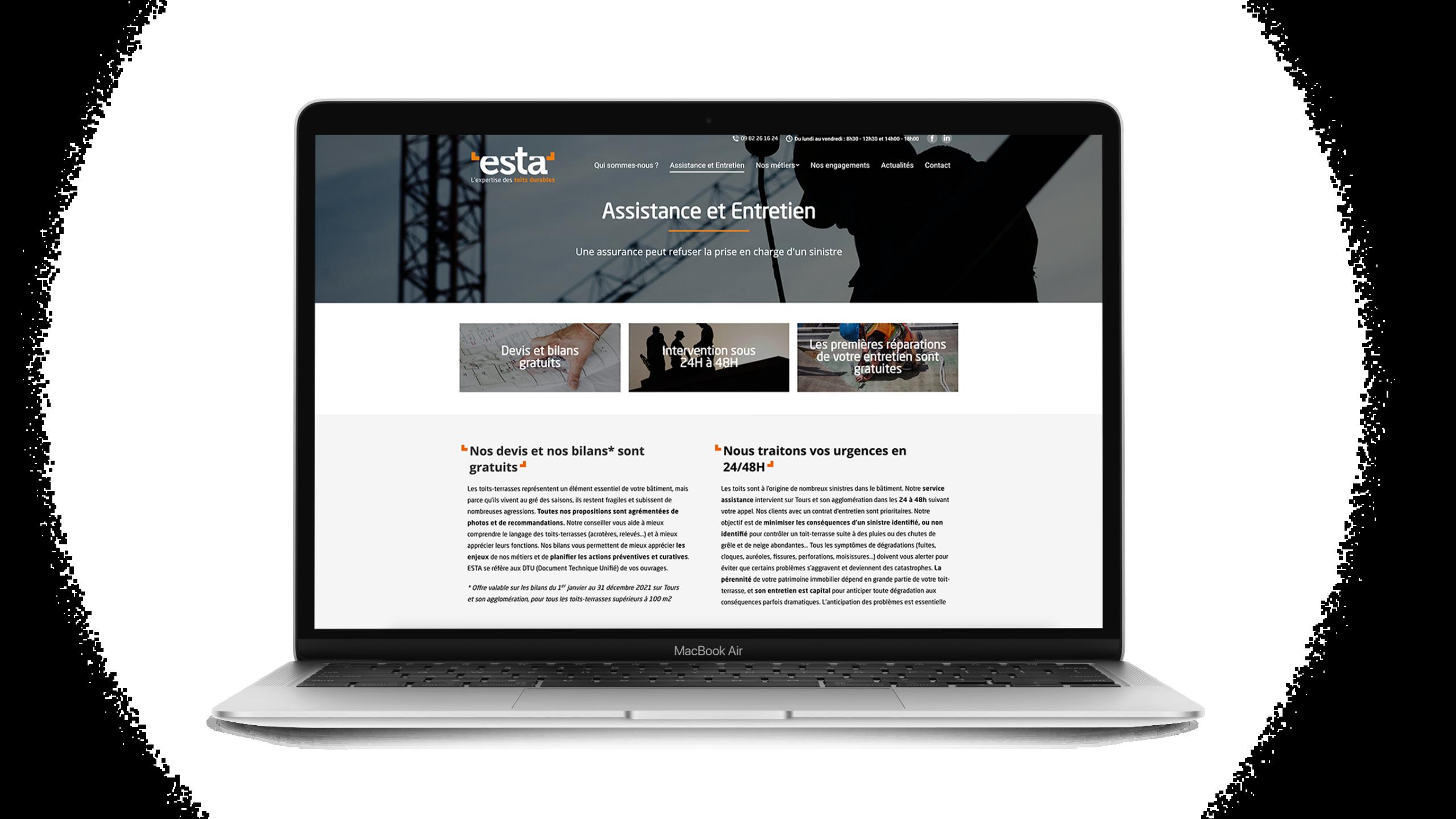 image-digital-ESTA-site-web-agence-conseil-en-communication-Letb-synergie
