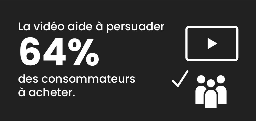 chiffres sur la consommation influencée par la vidéo