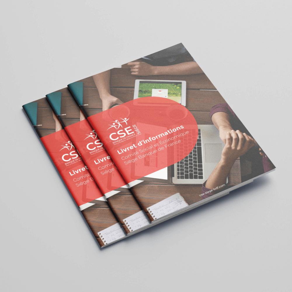image-edition-couverture-brochure-CSE-Siege-Banque-de-France-agence-conseil-en-communication-Letb-synergie