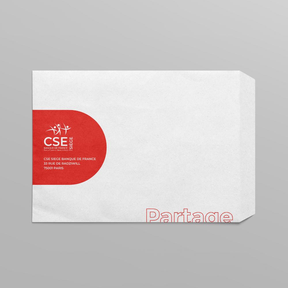 image-edition-enveloppe-CSE-Siege-Banque-de-France-agence-conseil-en-communication-Letb-synergie